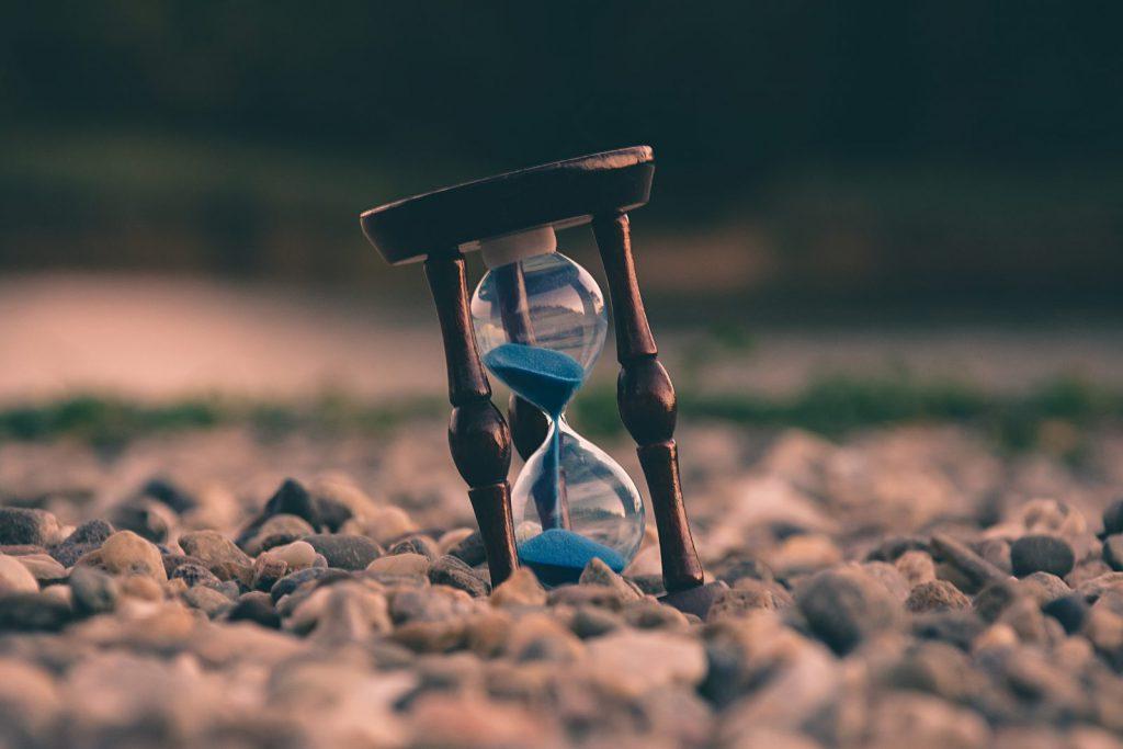 Don't let time slip away